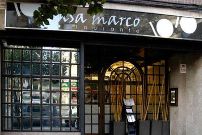 Restaurante CASA MARCO Avenida García Barbón 123 36201 Vigo (Potevedra) Teléfono: 986 225 110
